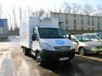 Iveco Daily CNG принимает участие в автопробеге «Голубой коридор»