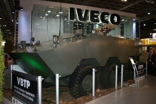 Iveco займется производством бронетранспортеров для Бразильской армии
