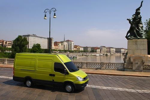Коммерческий транспорт Iveco в проекте CITYLOG