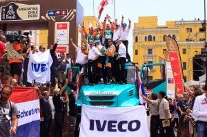 команда Iveco вошла в первую десятку финального зачета ралли «Дакар-2013»