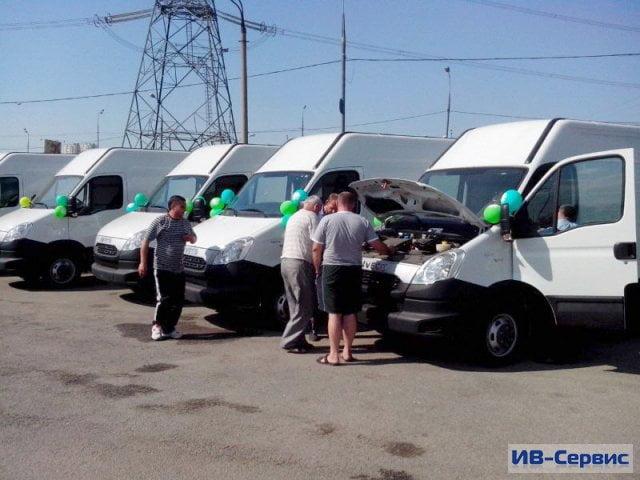 Компания «ИВ-Сервис» поставила 10 газовых фургонов Iveco Daily для «Курорт-транса»
