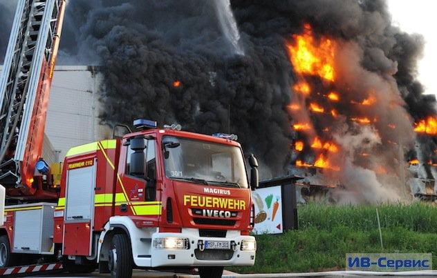Идеальная пожарная команда служит в Палермо