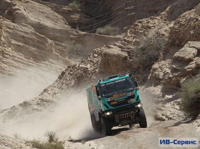 Четвертый этап ралли «Дакар–2014»: победителем стал Жерар де Рой