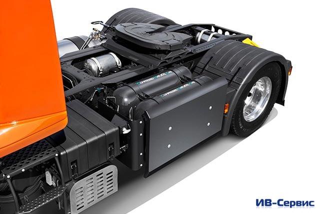 Новый тягач Iveco Stralis Natural Power стал чемпионом экологичности и экономии