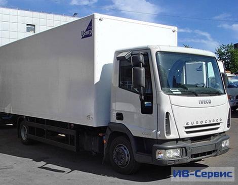 Европейский грузовик IVECO Eurocargo ML100E18 с надстройкой за 2 150 000 руб!