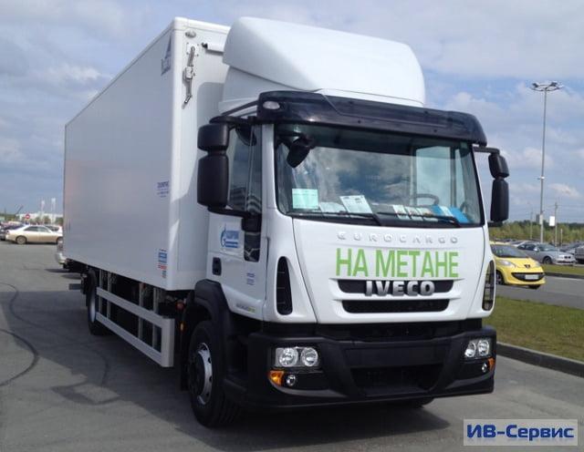 Газовые грузовики Eurocargo CNG отправились в Томск