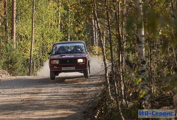 Экипаж компании «ИВ-Сервис» занял 2-е место на Открытом Кубке Ленинградской области по ралли