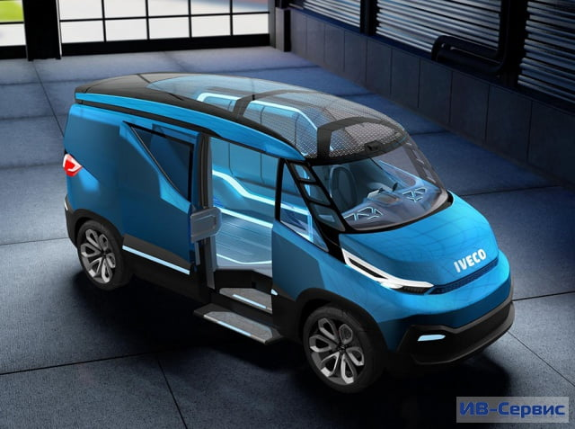 Концепт Iveco Vision в Ганновере: взгляд в будущее коммерческого транспорта