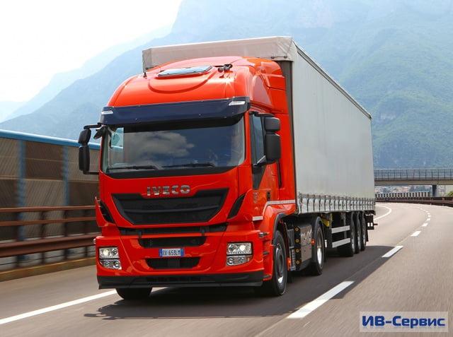 Первая поставка из 50 тягачей Stralis LNG отправилась в адрес итальянского оператора LC3