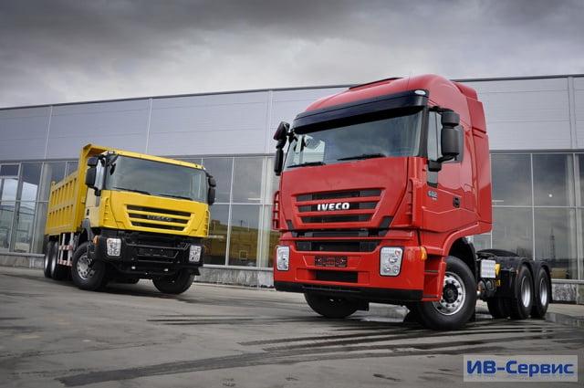 Тяжеловес от Iveco: новая модель грузовика 682 теперь и в России