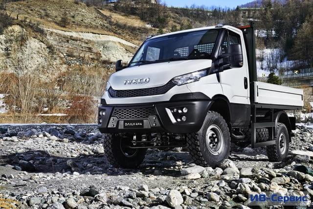 Концерн Iveco представил обновленный грузовик Daily 4x4