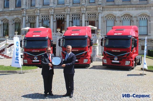 Iveco поставила 200 тягачей Stralis Hi-Road для турецкой транспортной компании Mars Logistics