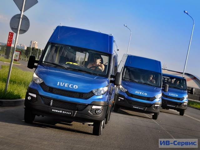 В России представлено третье поколение Iveco Daily
