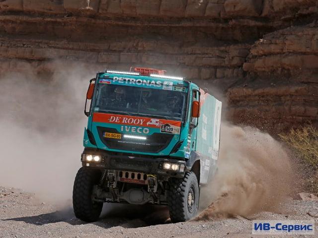 «Дакар-2016»: команда Iveco готовится к победе
