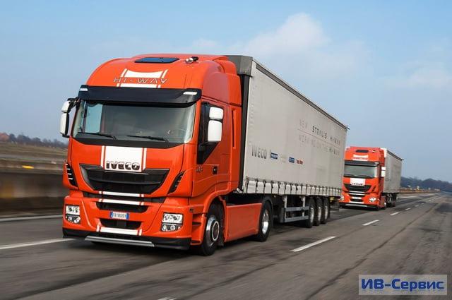 Грузовики IVECO Stralis совершили свой первый трансграничный автопробег тягачей с управлением полуавтомат