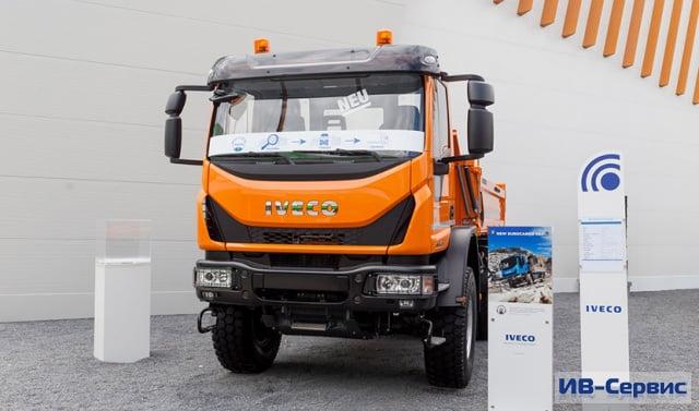 Компания IVECO провела презентацию полноприводного грузовика Eurocargo