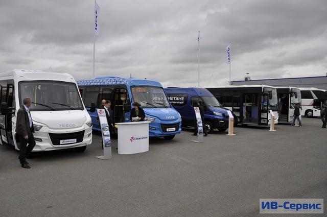 На фестивале «Мир автобусов-2016» представлены автобусы IVECO