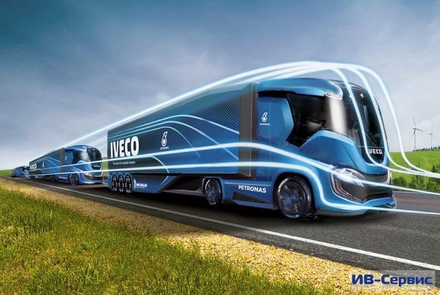 Концептуальную модель нового тягача ZTruck представила в Ганновере компания Iveco