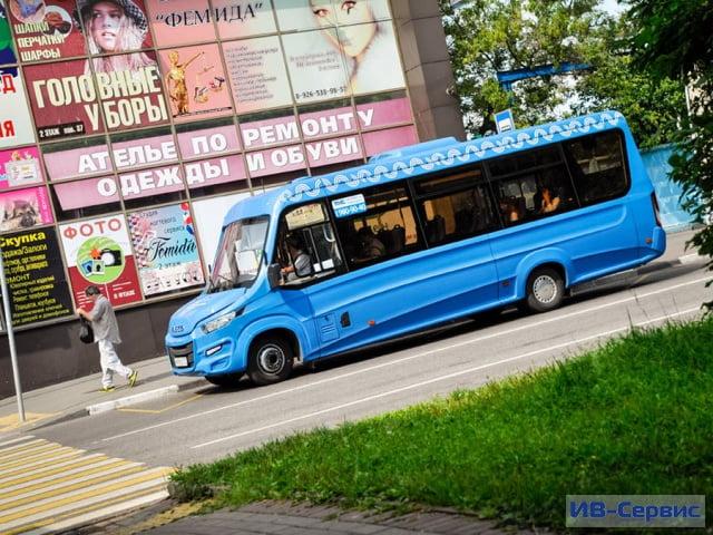 Московский перевозчик «Автолайн» запустил на пассажирские маршруты Iveco Daily