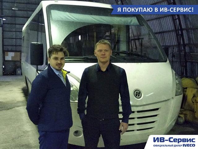 """Туристический автобус """"Неман"""" на базе IVECO Daily для АК """"Алроса"""""""
