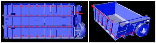 Самосвал IVECO Trakker AD380T41 с кузовом CANTONI (16 куб.м)