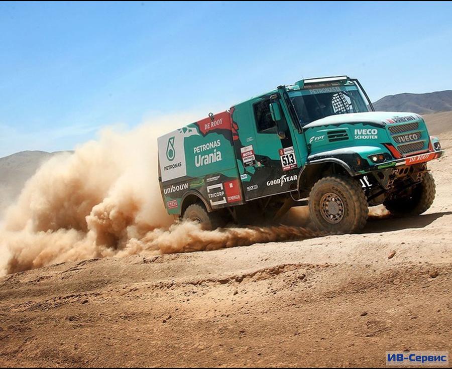 Команда PETRONAS Team De Rooy IVECO разместилась на 11 месте после 2 этапа ралли «Дакар-2020»