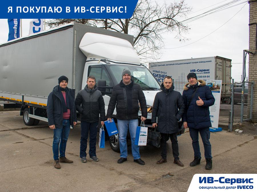 На маршруте Санкт-Петербург-Москва стало на один грузовик IVECO Daily больше