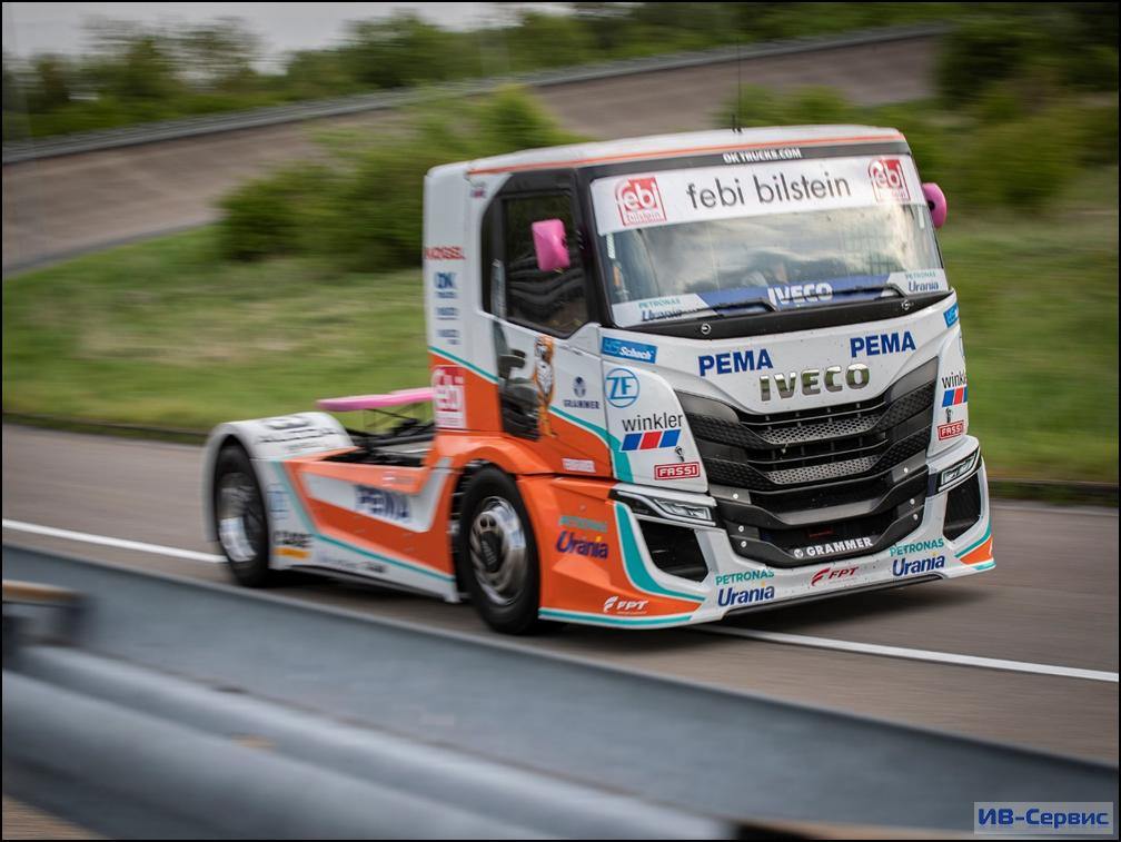 Стартовал новый сезон truck racing от IVECO!