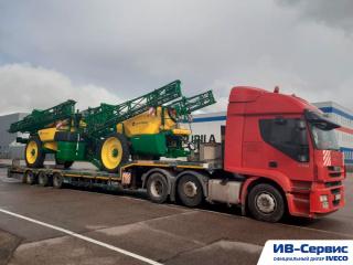 Негабаритные и контейнерные перевозки тягачами IVECO
