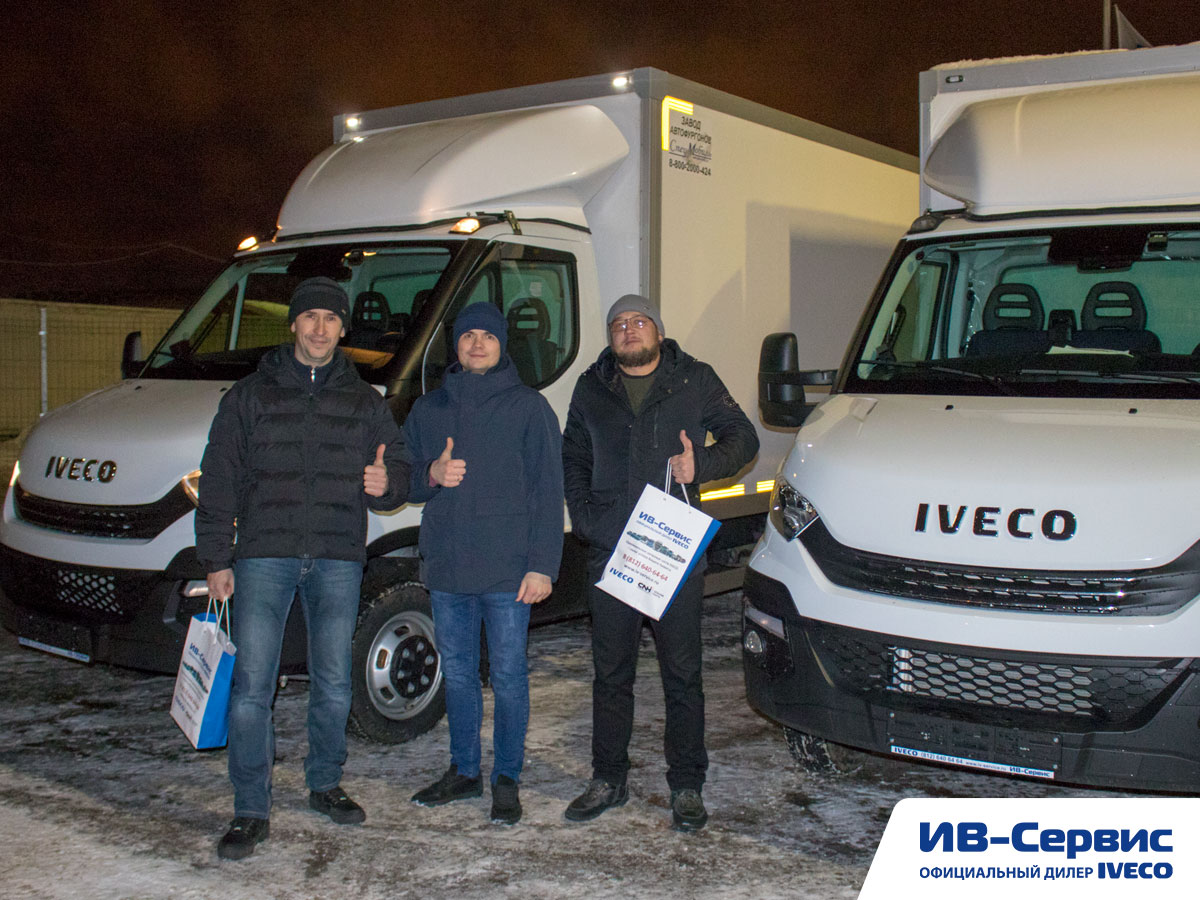 Фургон Европром на максималках для IVECO Daily