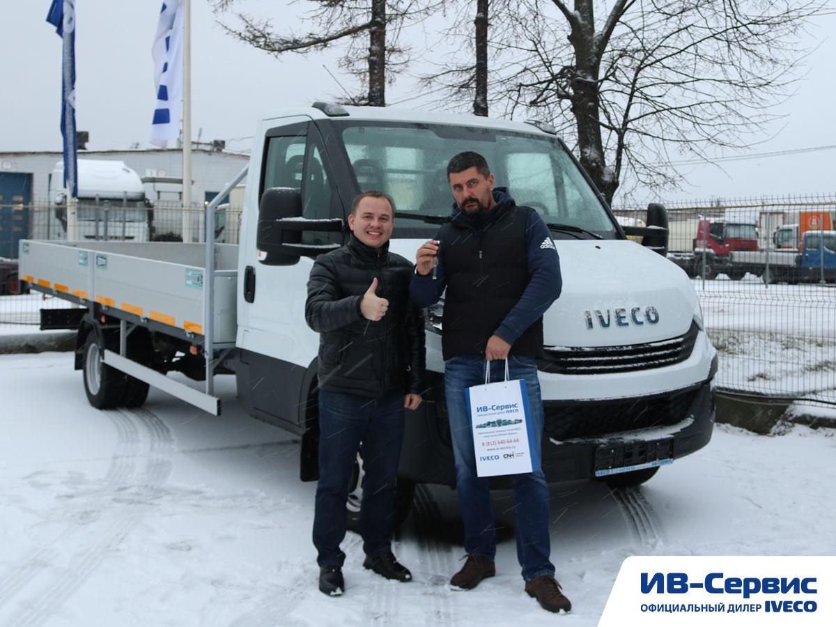 Бортовая платформа IVECO Daily для местных перевозок