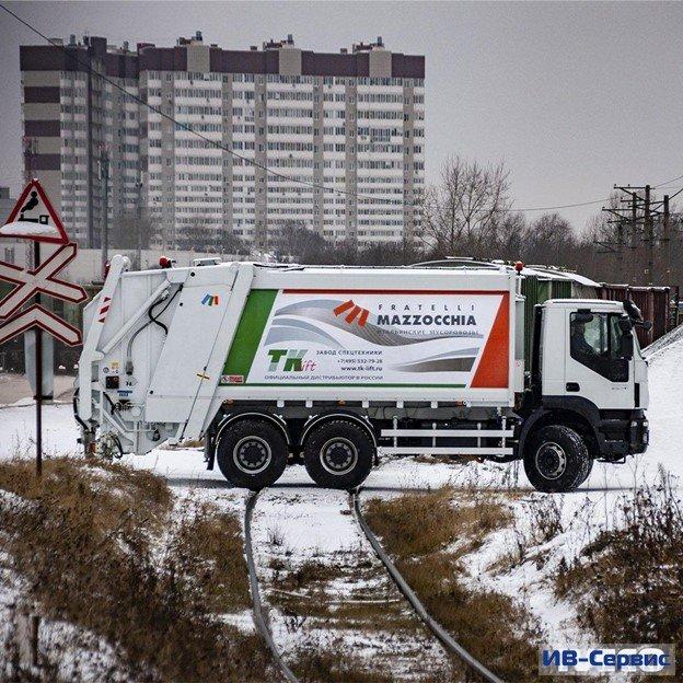 Новый мусоровоз от IVECO