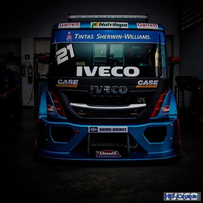Команда IVECO участвует в Copa Truck 2021