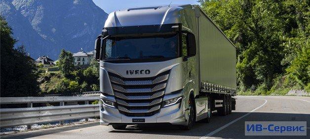 IVECO S-Way выводит топливную экономичность и ориентированность на водителя на новый уровень